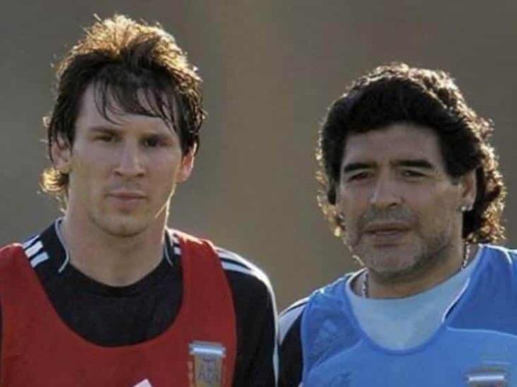 Messi envió mensaje de apoyo a Maradona en redes
