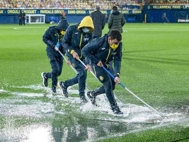 De alberca a cancha de futbol; sorprende estadio del Villareal