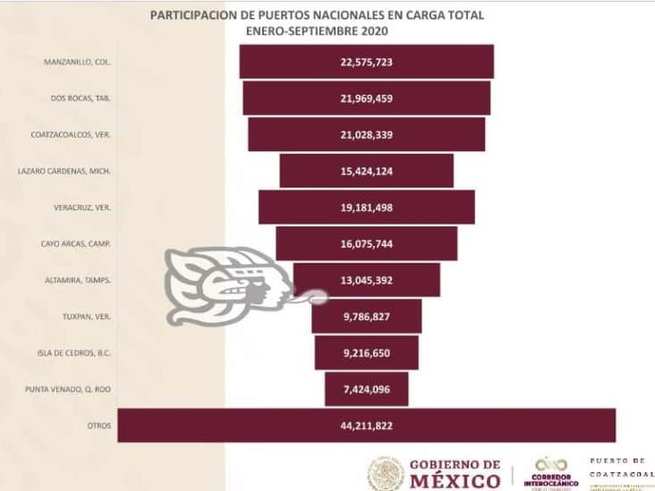 Apicoat supera los puertos de Veracruz y Tuxpan