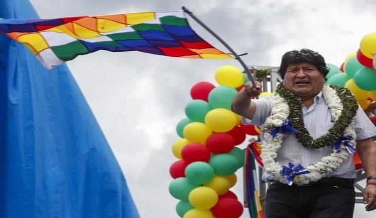 Concluye Evo Morales caravana de tres días por Bolivia