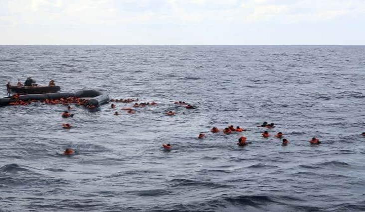 Naufragio frente a costas libias deja más de 70 migrantes muertos