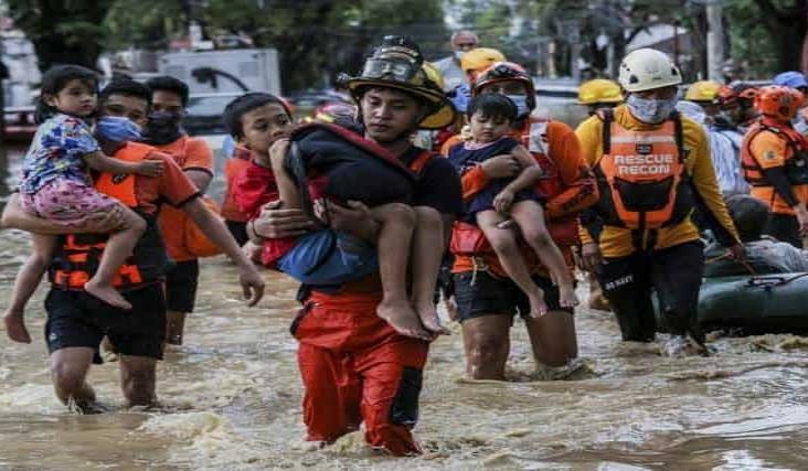 Tifón deja al menos 11 muertos en Manila