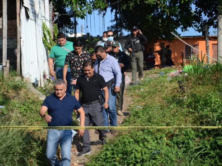 En Boca del Río, encuentran restos humanos en operativo realizado