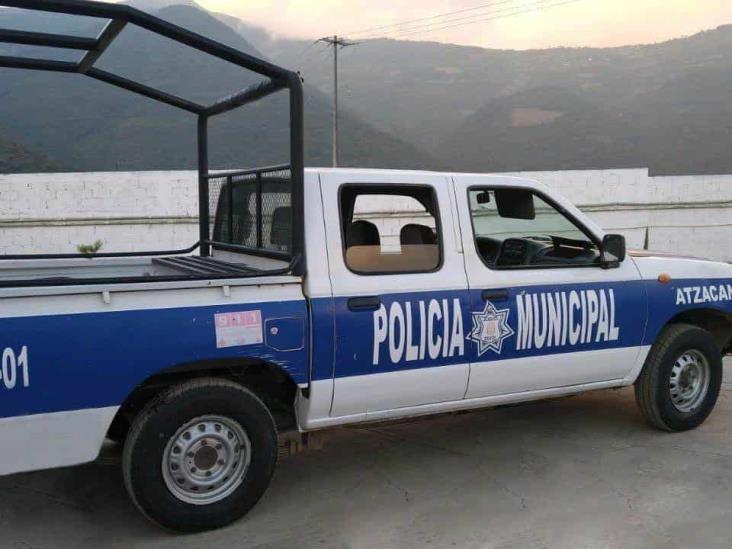 Policía Municipal de Atzacan utilizaba un auto robado como patrulla