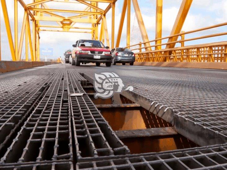 Dan prórroga para concluir trabajos del Puente Coatza I