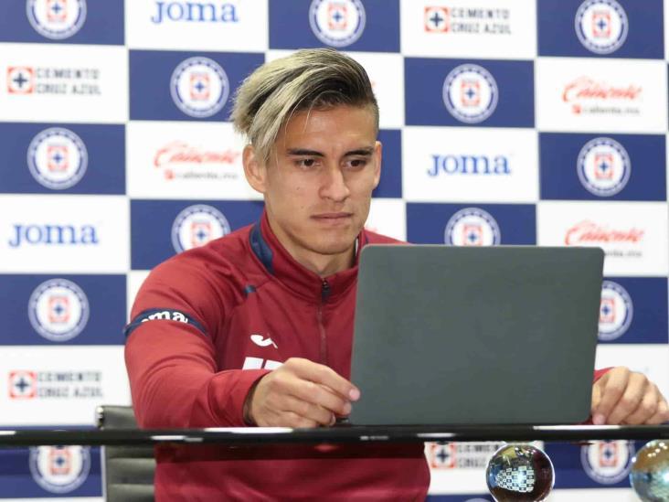 Alexis Peña prometió ser disciplinado en Cruz Azul