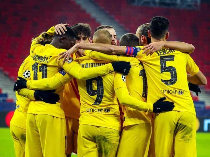 Barcelona empata vs PSG y queda eliminado de Champions League