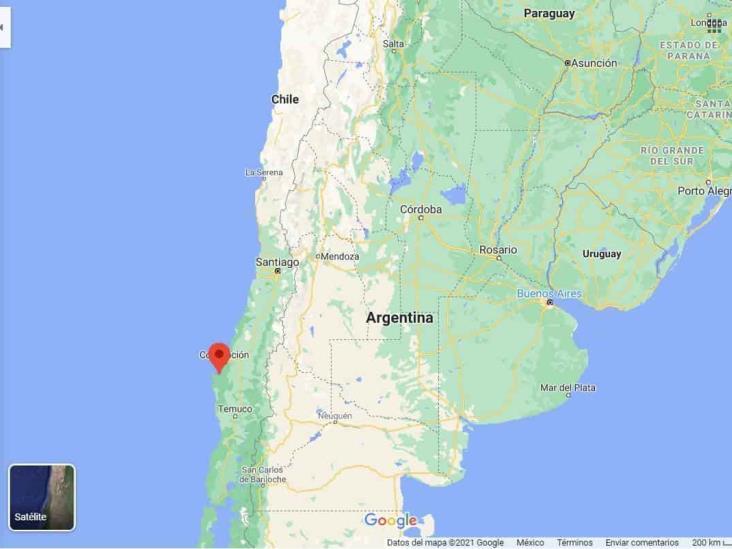 Tirotean a equipo de prensa en el sur de Chile
