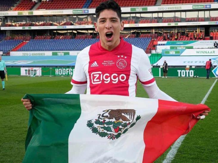 En Holanda, Edson Álvarez es la estrella del Ajax