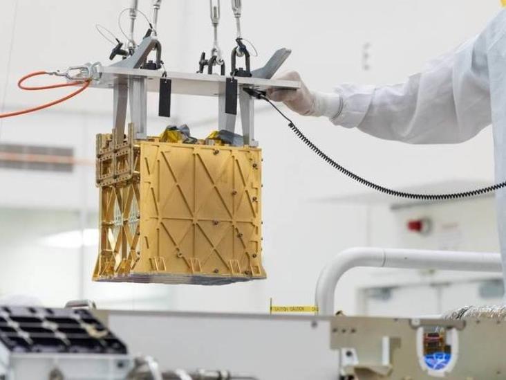 Robot de la NASA, logra convertir dióxido de carbono de Marte en oxígeno