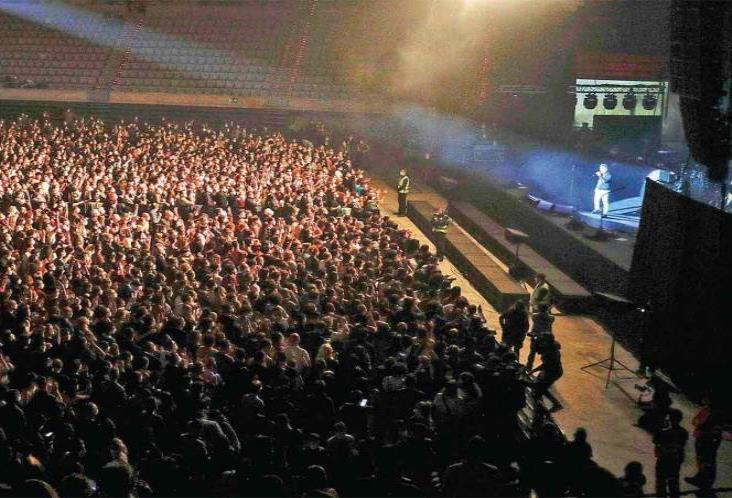 Sin contagios tras concierto Love of Lesbian con 5 mil personas